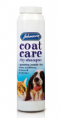 Johnsons Coat Care Dry Shampoo Powder - 6 x 85g